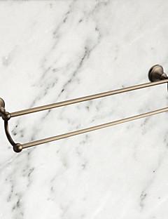 """Handtuchhalter Messing, antik Wandmontage 570 x 93mm (22.44 x 3.66"""") Messing Antik"""