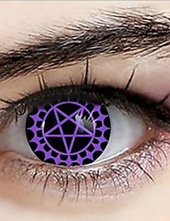 Black Butler ceil phantomhive lentilles de contact pacte de cosplay démoniaques (1 paire)