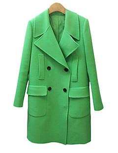 coco Zhang dámská klopě krk bodycon korean style kabát