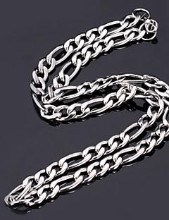 Nyakláncok Acél Nyakláncok Ékszerek Line Shape Rozsdamentes acél / Titanium Acél Ezüst Ajándék
