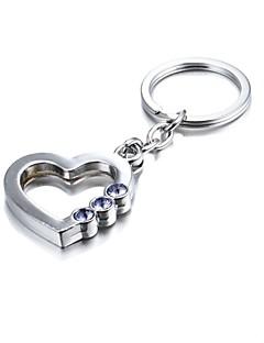 3d bling ljubičaste Kristal tajanstveni srce cink legura privjesak (prvih 10 kupaca s kutijom dodavanja)