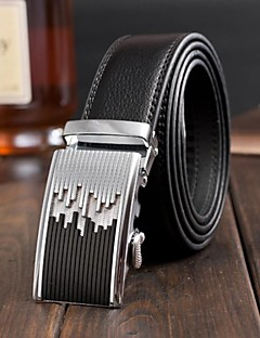 Men Waist Belt / Wide Belt,Vintage / Party / Work / Casual Alloy / Leather All Seasons