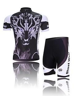 West biking Biciklistička majica s kratkim hlačama Muškarci Kratki rukav Bicikl Rukavi Biciklistička majica Kratke hlače Kompleti odjeće