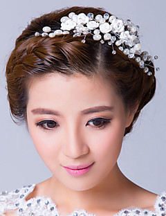 Women's Alloy / Cubic Zirconia Headpiece-Wedding / Special Occasion Flowers