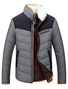 Ski Wear Winter Jacket / Down Jackets / Tops Men's Winter Wear Down / Fleece Winter Clothing Thermal / Warm SnowsportsSpring /