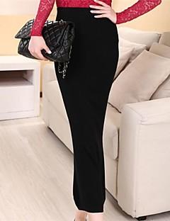 женская мода твердых вязание юбка (больше цветов)