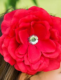 Polyester Flower Girl Kids' Flower Headpiece