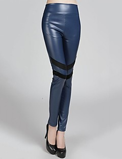 Incern®Women's Bodycon Thin Elastic Leather Trousers (More Colors)
