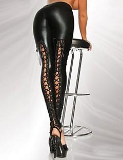 Ženy Polyuretan Legging,Polyuretanová kůže