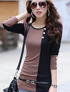 Женская рубашка, с круглым воротом