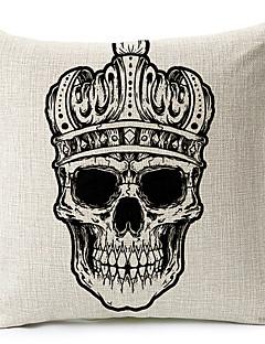 krona skelett bomull / linne dekorativa örngott