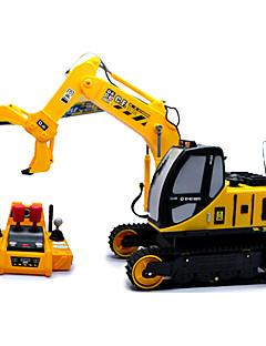 goldlok 2350-06 grande tamanho do carro rc controle remoto elétrico agarrar pesado carro de brinquedo caminhão com som luz