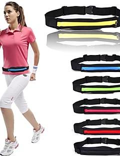 Fermer ceinture super léger sports Course à pied Poids taille sac pochette ceinture de poche pour smartphone magasin / clés / porte-monnaie, etc ...