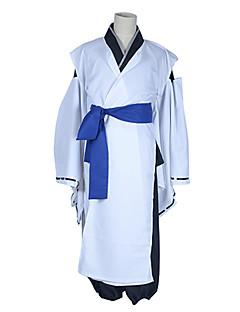 Inspired by Inu x Boku SS Soushi Miketsukami Anime Cosplay Costumes Cosplay Suits / Kimono Patchwork White Long SleeveKimono Coat / Pants