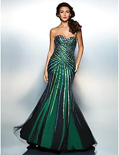 Homecoming Dress Trumpet/Mermaid Sweetheart Floor-length Taffeta