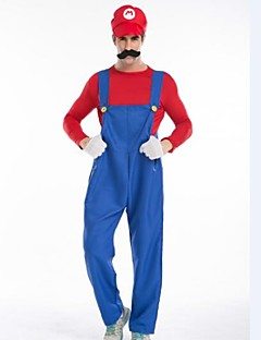 Anime/Videogame For Super Mario Unisex Halloween Costume Size M L XLfor Carnival