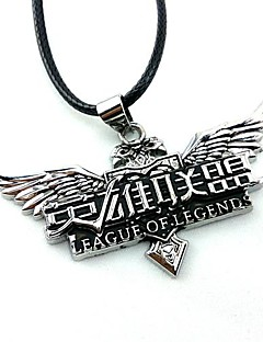 Jewelry Inspired by LOL Cosplay Anime/ Video Games Cosplay Accessories Necklace Silver Alloy Male