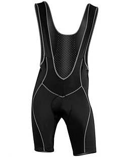 WOLFBIKE® Cycling Bib Shorts Men's Breathable / Quick Dry Bike Bib Shorts / Shorts / Padded Shorts/Chamois / TightsSpandex / Polyester /