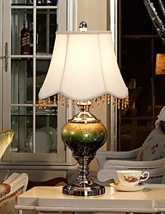 eidehi® lampada da tavolo in stile lusso vetro pittura