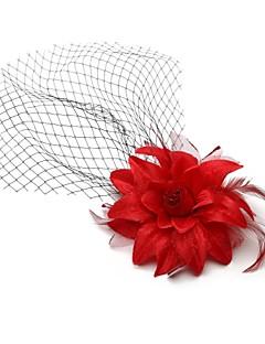 einem Tier-Hochzeit / besonderen Anlass Rouge Schleier