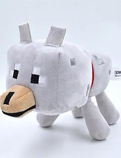 minecraft bebis 22cm varg djur plysch leksak docka
