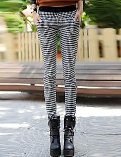 Women's Multi-Color Fleece  Lined Denim Pants