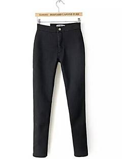 женские западный флиса узкие брюки