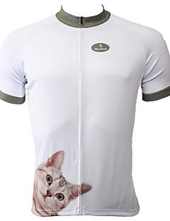 PALADIN Cykel/Cykling Trøje / Toppe Herre Kort ÆrmeÅndbart / Ultraviolet Resistent / Hurtigtørrende / Komprimering / letvægtsmateriale /