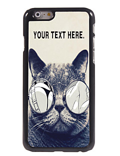 "Personalized Case Lecherous Cat Design  Metal Case for iPhone 6 (4.7"")"