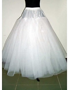 Slips Bride Bridesmaid Dress Accessories White 3 Layer No-Hoop Petticoat