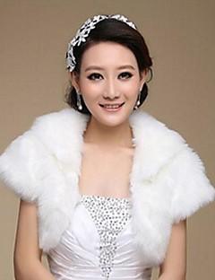 fashion faux fur quente casamento envolve (tamanho livre) shrug bolero