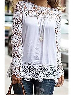 Y.J.Z Women's Fashion Chiffon Lace Shirt