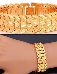 Armbänder Ketten- & Glieder-Armbänder Aleación / Zirkon / Platiert / vergoldet Liebe Hochzeit / Party / Alltag / Normal / Sport Schmuck