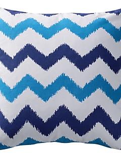 rayé moderne coton polyester taie d'oreiller décoratif