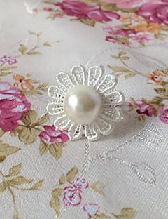 handmade White Lace fiore classic lolita anello