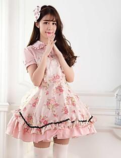 Pink Sweet  Lolita Princess Rose Garden  Princess  Dress  Lovely Cosplay