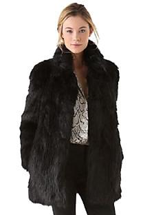 Damer Bælte ej inkluderet Overtøj Imiteret pels
