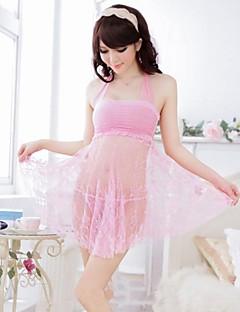 Sexy Tube Dress Transparent Nightwear Lingerie