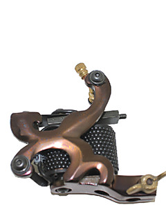 Damascus Steel Casting Двойной Катушки 10 Обертывания автомата татуировки для лайнера