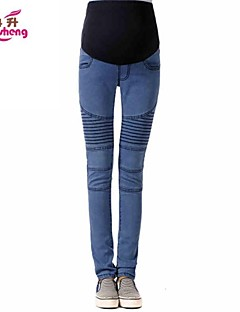 RanSheng Maternity Add Thick Fashion Keep Warm Jeans