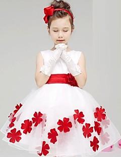 GIRL - ドレス ( コットン ) - マイクロ弾性 - 中 - ノースリーブ