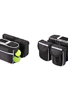 Basecamp® Cyklistická taška 5LBrašna na rám / Mobilní telefon BagVoděodolný / Odolné vůči dešti / Odolné vůči prachu / Nositelný /