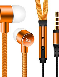 3.5mm waterdichte noise-cancelling in-ear oortelefoon voor iPhone en andere telefoons
