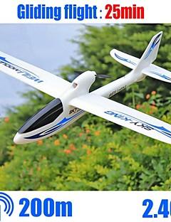 cielo f959 wltoys rey 3channels rc avión de ala fija avión rtf