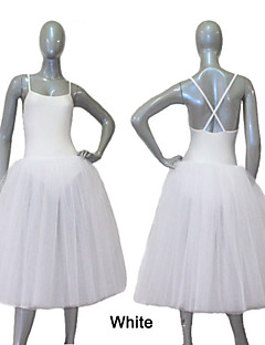Nylon/Lycra Romantic Tutus-Long Style Straps Cross Back Dance Tutus More Colors for Ladies and Girls