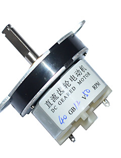 40mm 직류 12V의 50rpm으로 높은 토크 전기 기어 박스 모터