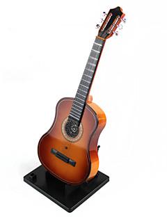 émulation de décoration boîte à musique de guitare de haute qualité