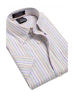 U&Shark Men's Fine Oxford Short Sleeve Shirt/NJF007