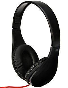 DM-5300 3.5mm Audio Plug Super Bass Headphone Earphone Hi-Fi Stereo Headset with Microphone for PC Laptop Notebook-Black