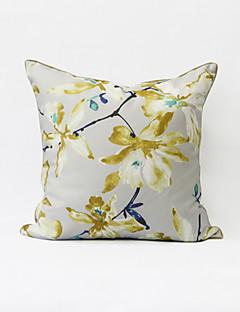 Accent / décoration / / floral contemporain / casual / toile taie d'oreiller / oreiller / couverture jette moderne / oreiller